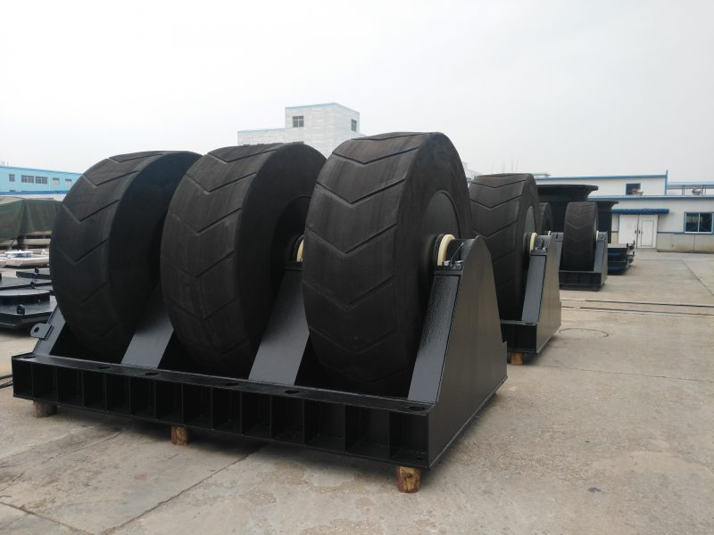 PORTSUPPLIERS GROUP DELIVERS NORTHERN EUROPE'S LARGEST WHEEL FENDER SYSTEM