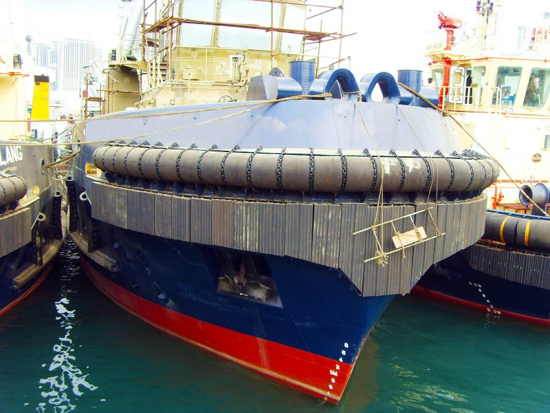 PsG Tug Boat, Working boat Fender