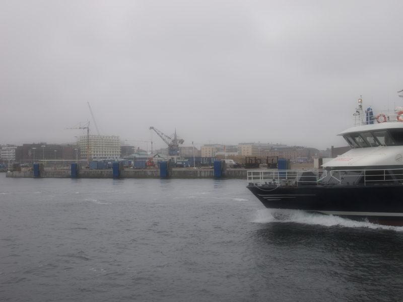 OCEANPIREN I HELSINGBORG HAR FÅTT SITT NYA FENDERSYSTEM FRÅN PORT SUPPLIERS GROUP PÅ PLATS!