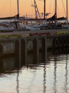 PsG LE-V fender, Falsterbo kanal